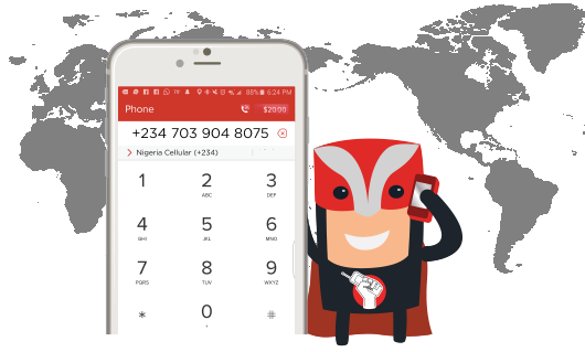Make Cheap International Calls Fast and Easy with our Mobile App